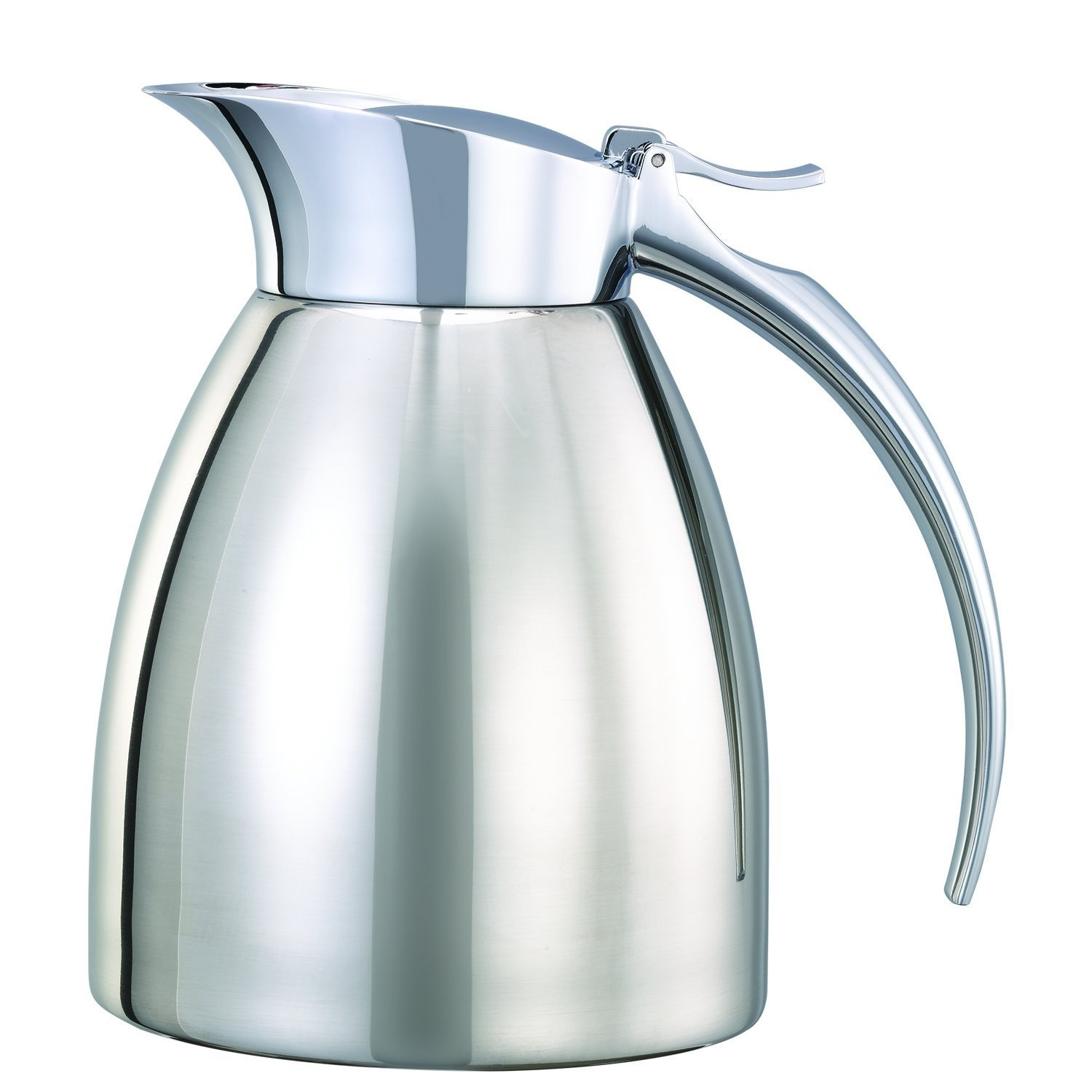 Service Ideas SVSC03PS Polished Steel Smart Choice Carafe, 0.3 Liter