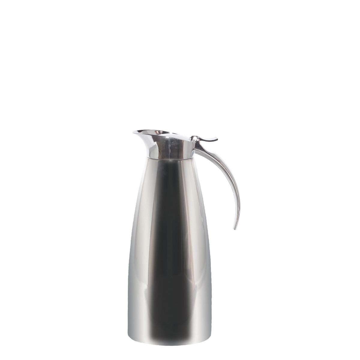 Service Ideas SVSC10PS Polished Steel Smart Choice Carafe, 1 Liter