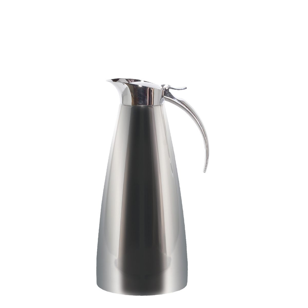 Service Ideas SVSC13PS Polished Steel Smart Choice Carafe, 1.3 Liter