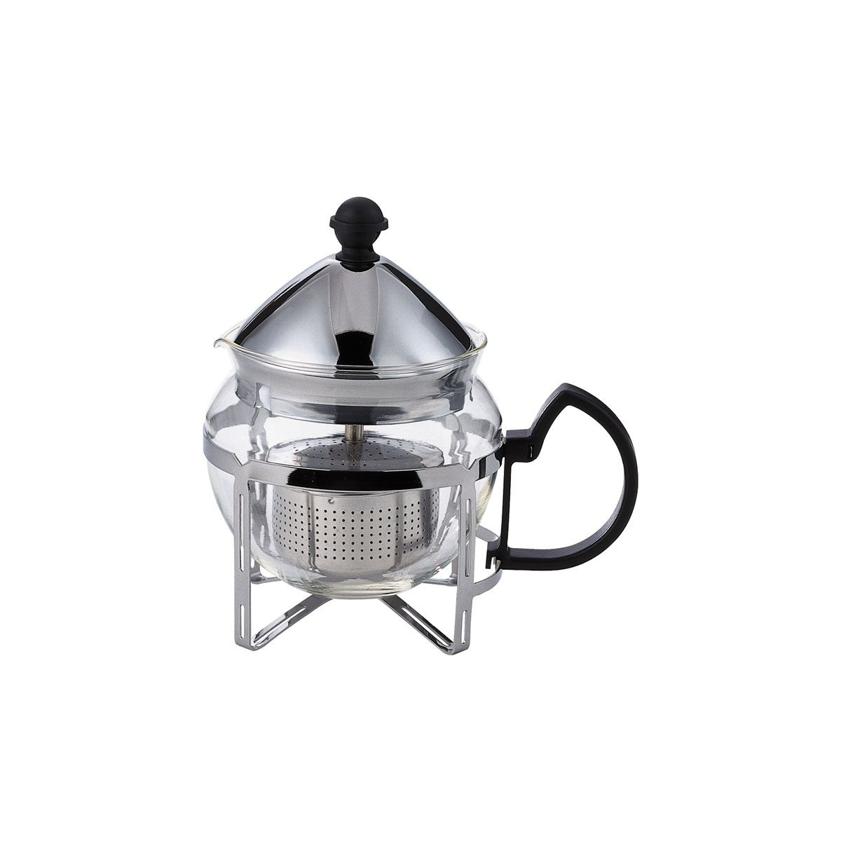 Service Ideas T600CC Stainless Steel Tea Press .6 Liter
