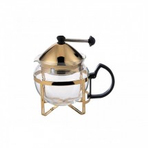 Service Ideas T600CCG Classic Tea Press, 0.6 Liter