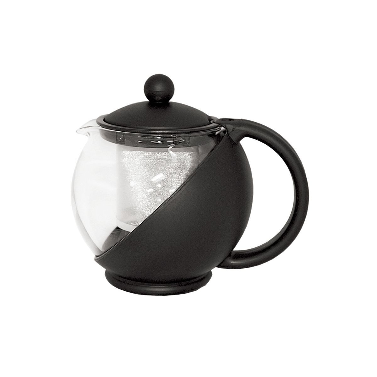 Service Ideas TB600CC Teaball Server with Removable Infuser Basket, 0.6 Liter