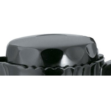 Service Ideas TNSL20BL Twist N' Serv Black Replacement Lid for TNS20 Server