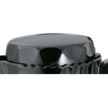 Service Ideas TNSL20BL Black Replacement Lid for 0.5 Liter TNS20 Server