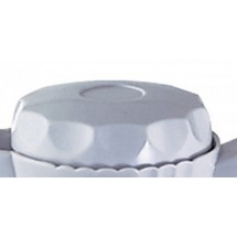 Service Ideas TNSL20WH Twist N' Serv White Replacement Lid for TNS20 Server