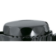 Service Ideas TNSL40BL Black Replacement Lid for 1.2 Liter TNS40 Server