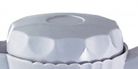 Service Ideas TNSL40WH Twist N' Serv White Replacement Lid for TNS40 Server