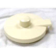 Service Ideas TPLAL Replacement Almond Lid for TS612 Teapot