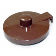 Service Ideas TPLBR Replacement Brown Lid for TS612 Teapot