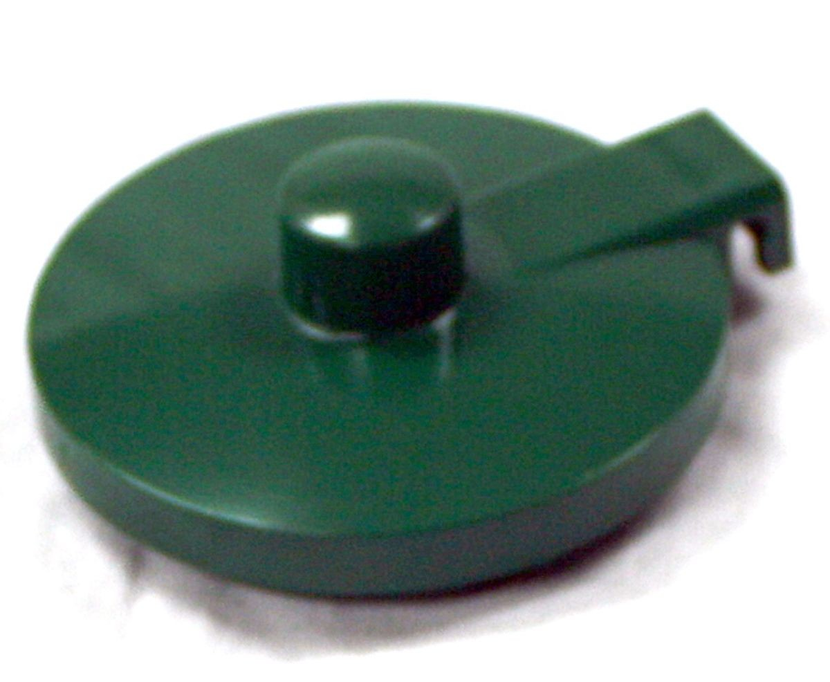 Service Ideas TPLFG Replacement Forest Green Lid for TS612 Teapot