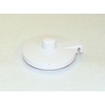 Service Ideas TPLWH Replacement White Lid for TS612 Teapot