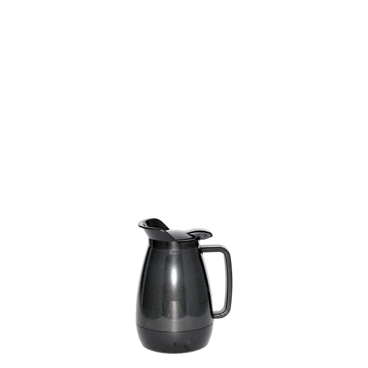 Service Ideas TS501BL Thermo-Serv Black Flip Top Server, .6 Liter (20 oz.)