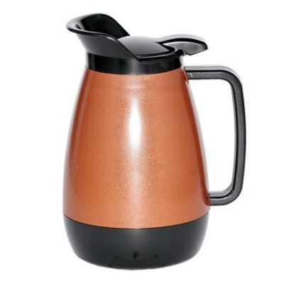 Service Ideas TS501CB Thermo-Serv Copper with Black Flip Top Server, .6 Liter (20 oz.)