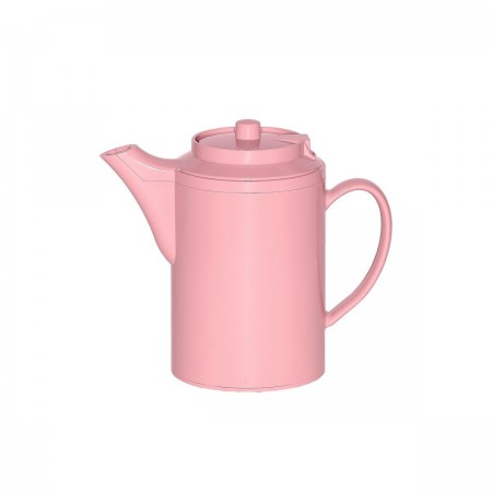 Service Ideas TS612MV Dripless Teapot with Baffled Spout, Self-Locking Lid, Mauve 16 oz.