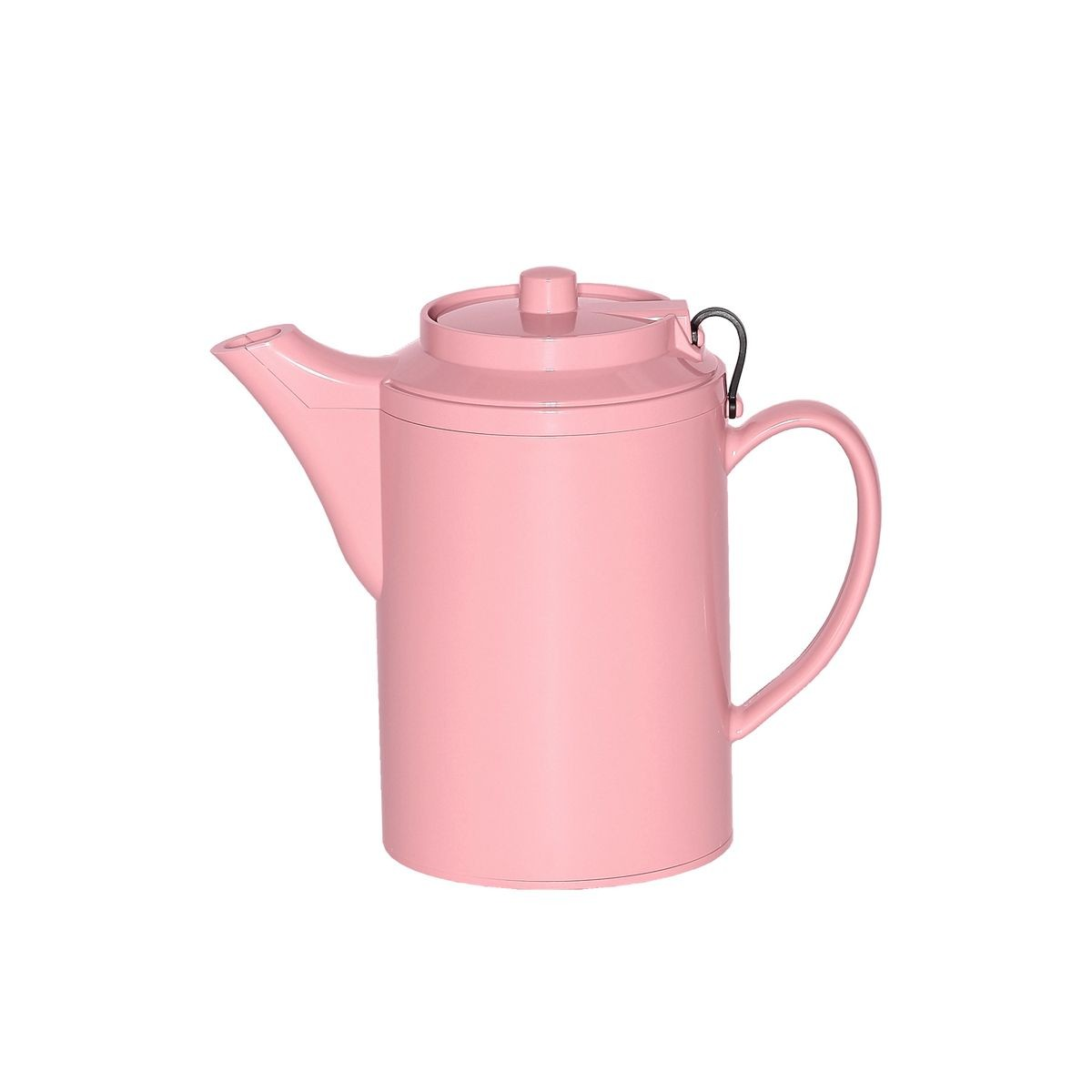 Service Ideas TST612MV Dripless Teapot with Tether, Mauve 16 oz.