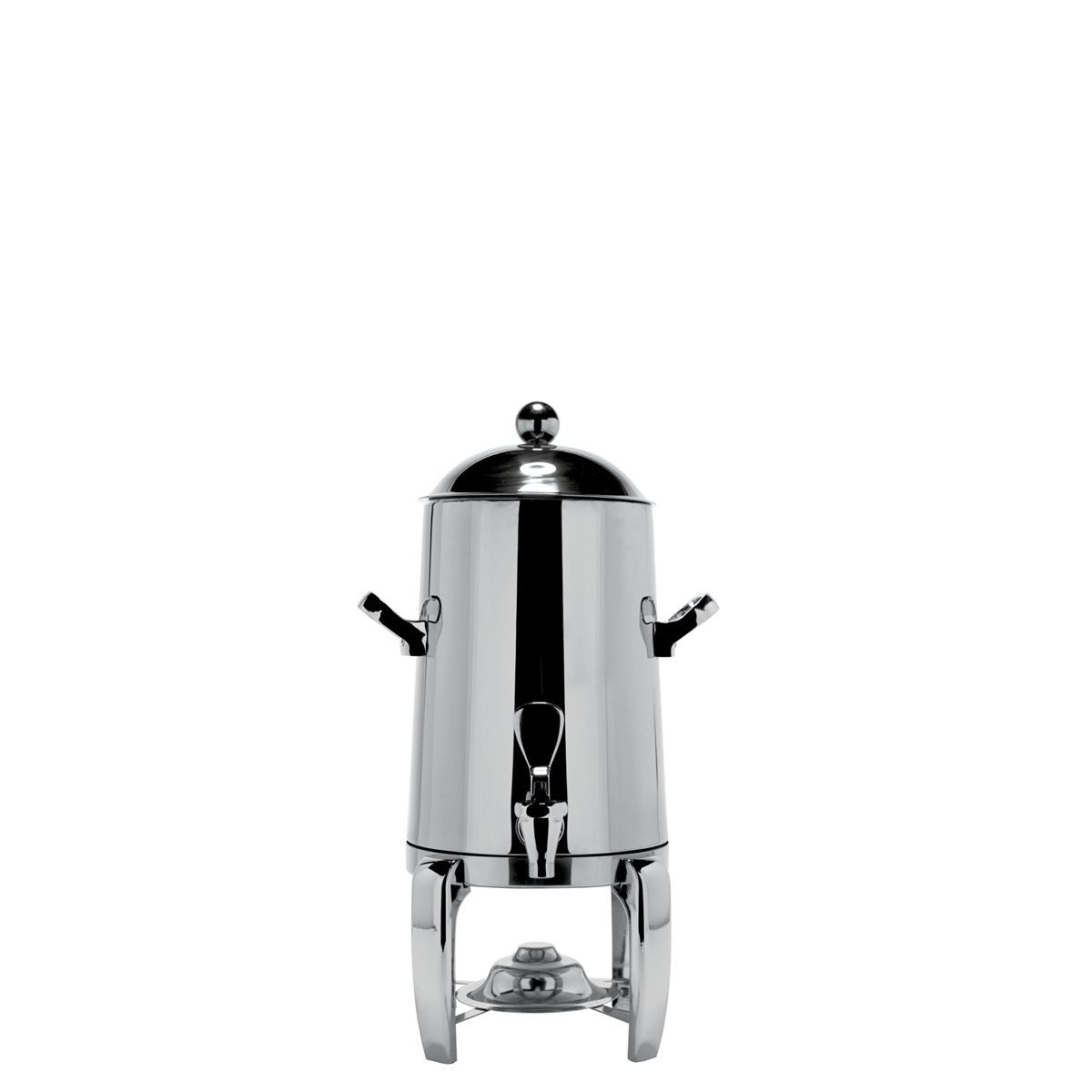 Service Ideas URN15VPS Polished Steel Flame Free Thermo Beverage Urn 1-1/2 Gallon
