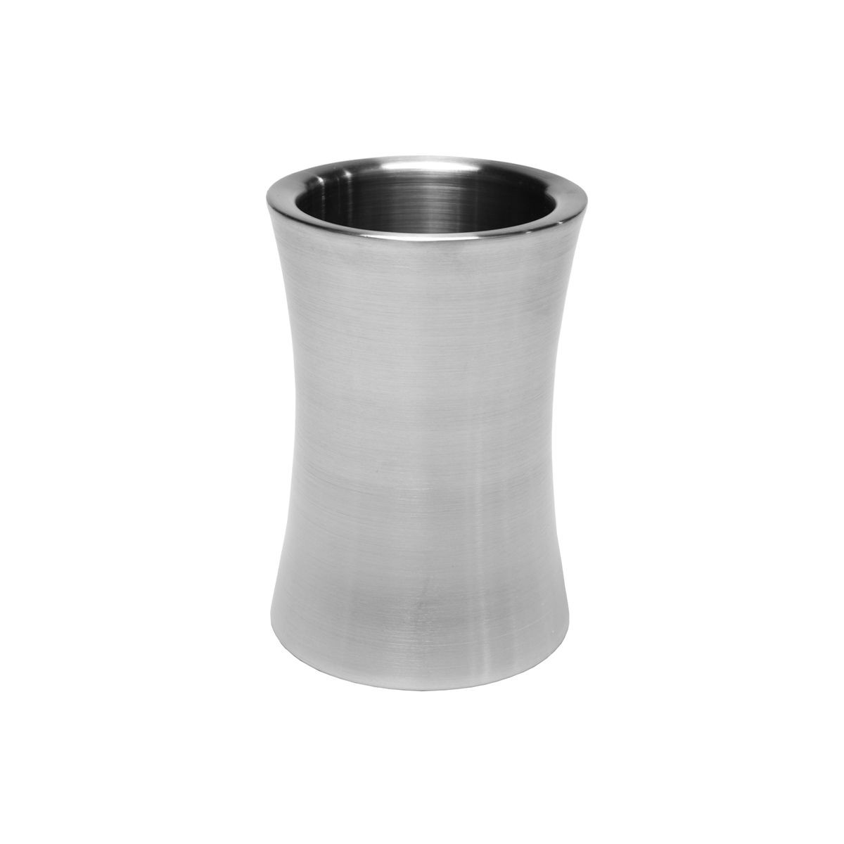 Service Ideas WC3C Brushed Stainless Steel Curved Wine Chiller