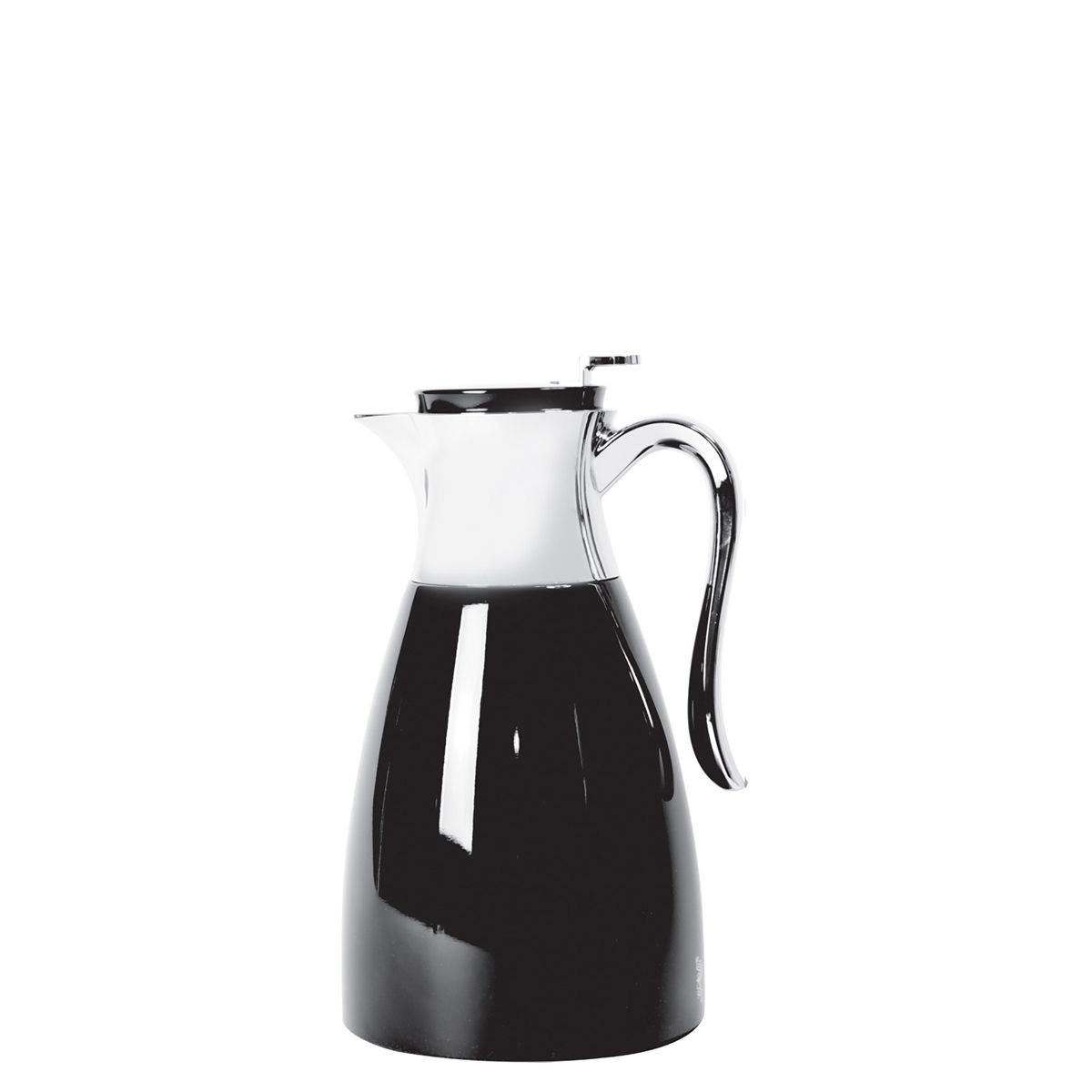 Service Ideas WES15BL Elegant Black / Chrome Server, 1.5 Liter