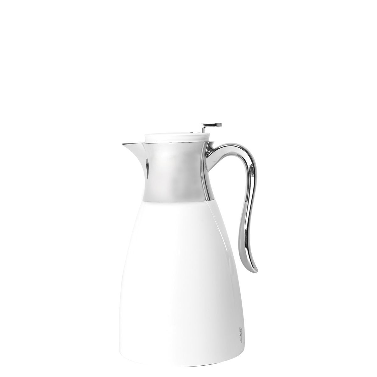 Service Ideas WES15WH Elegant White / Chrome Server, 1.5 Liter