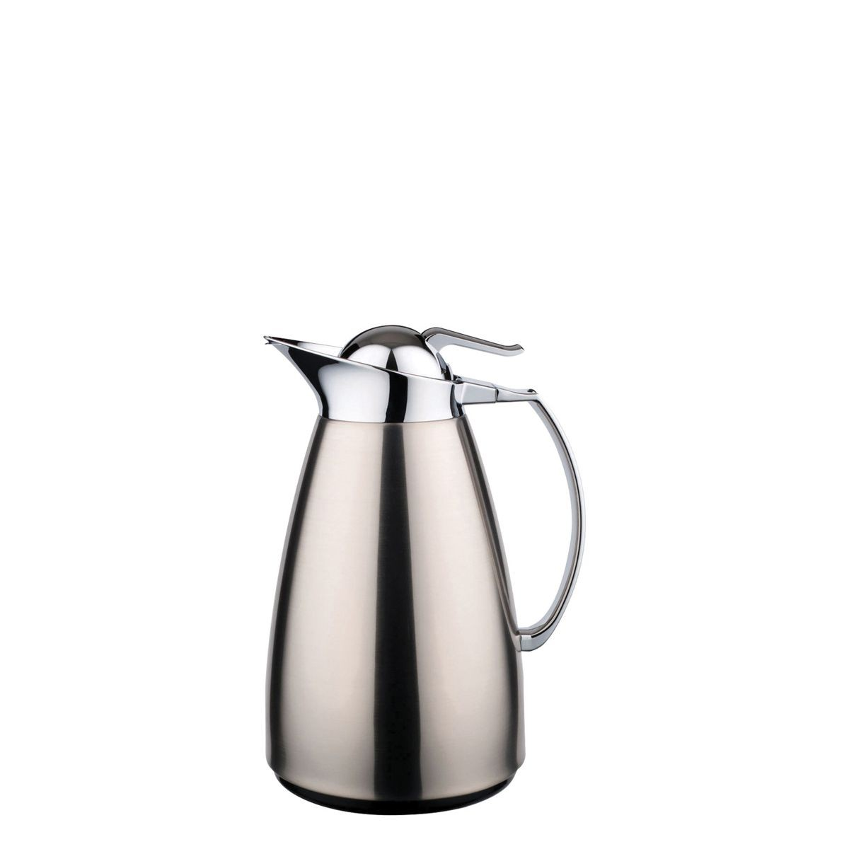 Service Ideas WJ10SSBS WJ Series Brushed Stainless Steel Server, 1 Liter