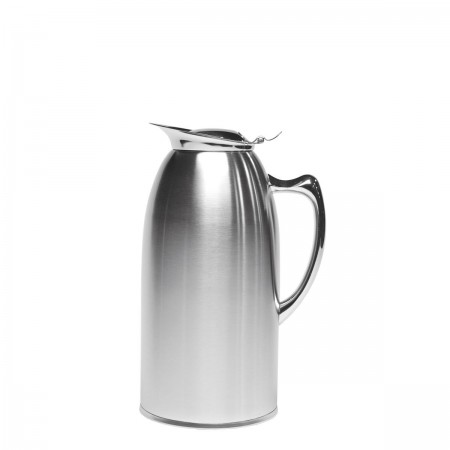 Service Ideas WP15SA Satin Stainless Steel Insulated Pitcher, 1.5 Liter