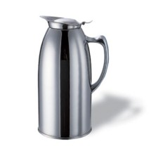 Service Ideas WP20CH Polished Stainless Steel Insulated Pitcher, 2 Liter