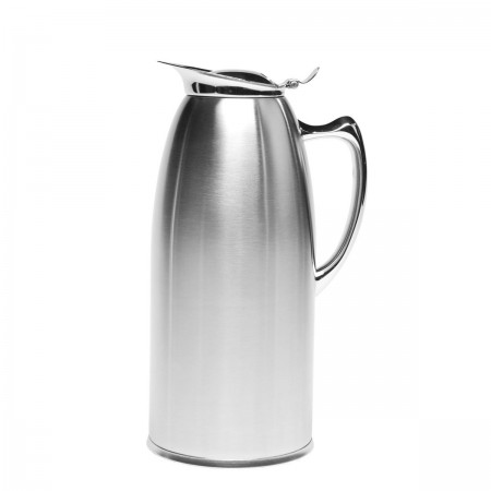 Service Ideas WP20SA Satin Stainless Steel Insulated Pitcher, 2 Liter