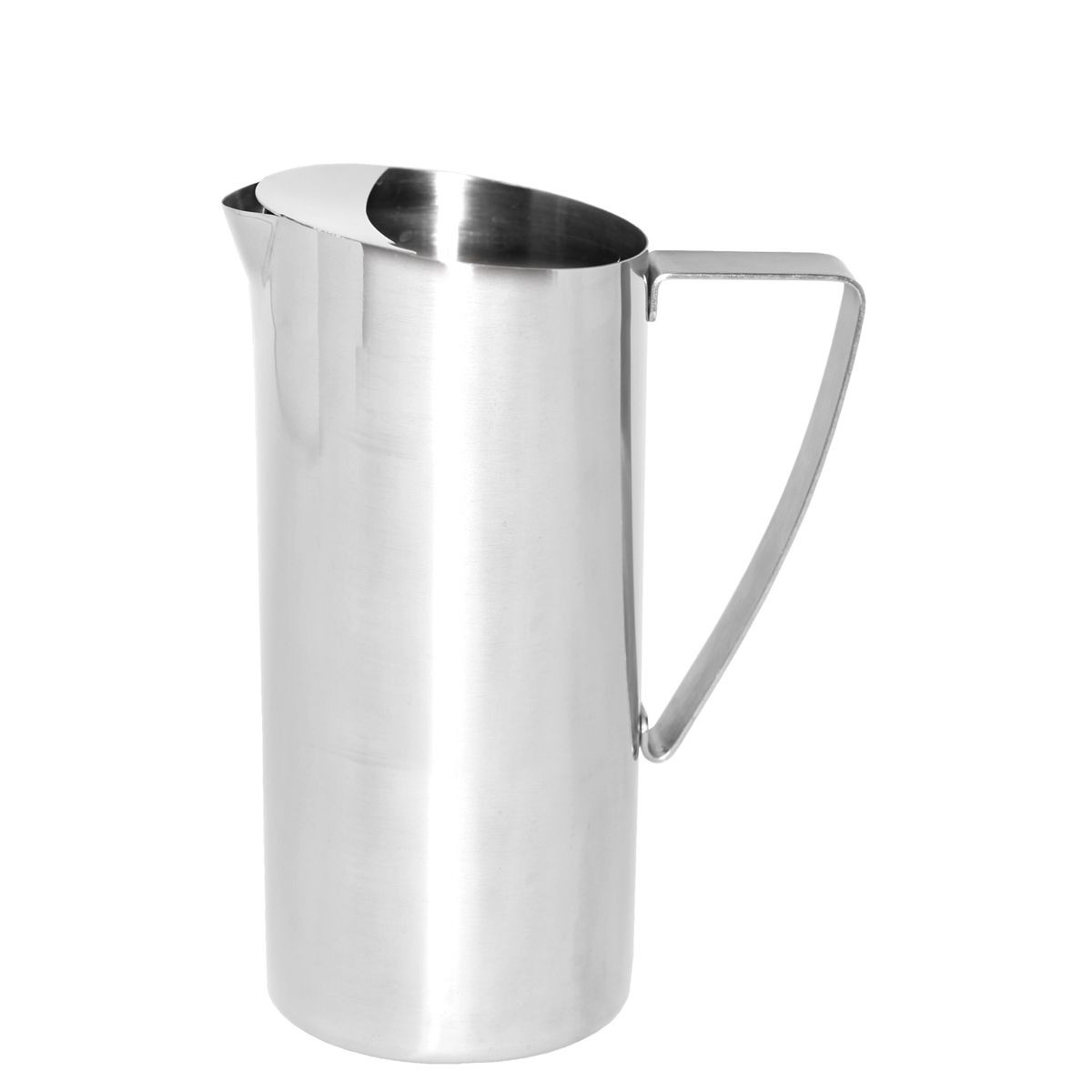 Service Ideas X7025BS Stainless Water Pitcher with Ice Guard 64 oz.