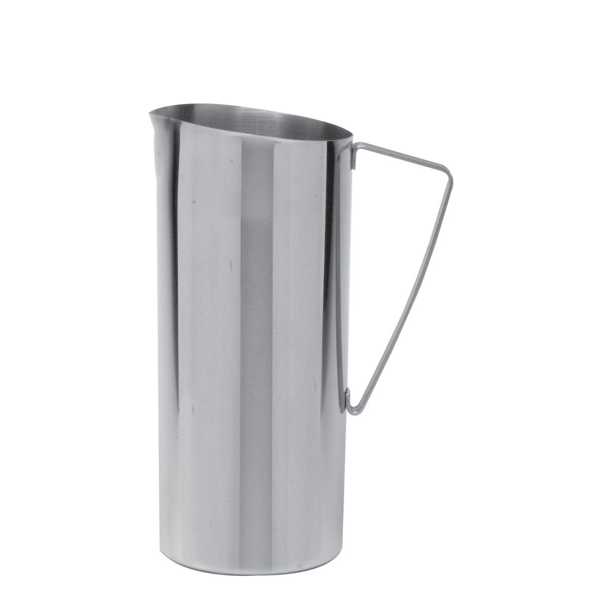 Service Ideas X7025NG Slim Stainless Water Pitcher, 64 oz.