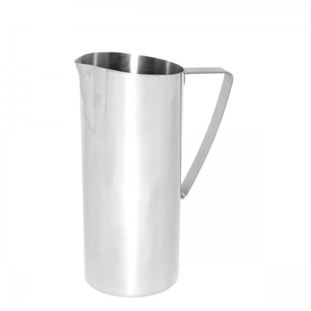 Service Ideas X7025NGBS Brushed Stainless Water Pitcher 64 oz.