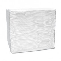 Signature Airlaid Dinner Napkins/Guest Hand Towels,  12 x 16 3/4, White, 500/Carton