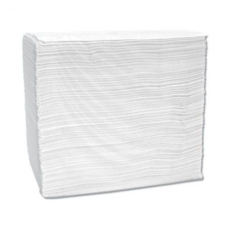 Signature Airlaid Dinner Napkins/Guest Hand Towels,  15 x 16 3/4, White, 504/CT