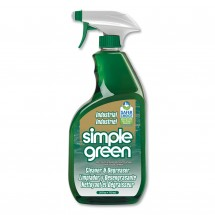 Simple Green Industrial Cleaner and Degreaser, Concentrated, 24 oz. Spray Bottle, 12/Carton
