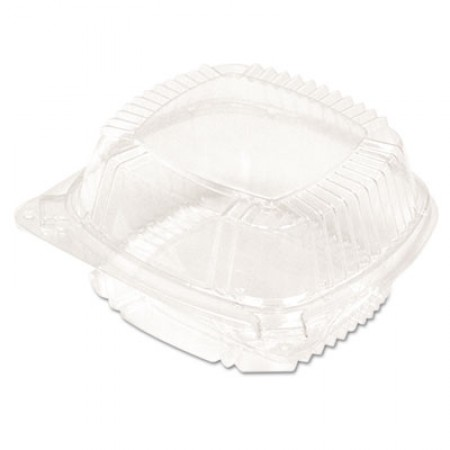 SmartLock Food Containers, Clear, 11oz, 5 1/4w x 5 1/4d x 2 1/2h, 375/Carton