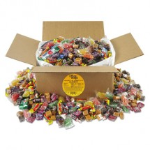 Office Snax Soft and Chewy Candy Mix, Individually Wrapped, 10 lb Values Size Box