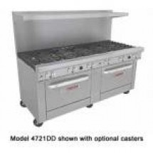 Southbend 4721DD-3G Ultimate Commercial 6 Burner Gas Range with 36