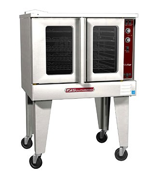 Southbend SLGS/12SC SilverStar Stainless Steel Gas Convection Oven with Single-Deck