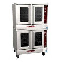 Southbend SLGS/22SC SilverStar Stainless Steel Gas Convection Oven with Double-Deck