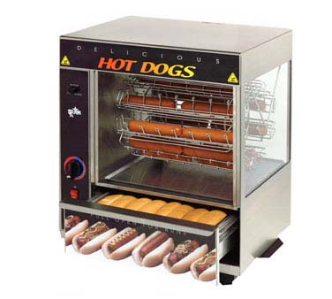 Star 175CBA Cradle Rotisserie Broil-O-Dog Hot Dog Broiler
