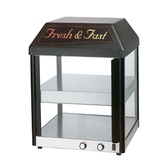 Star 18MCPT 2-Shelf Heated Pass-Through Pizza Warmer