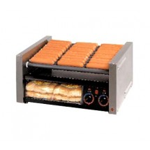 Star 30CBBC Grill-Max Hot Dog Grill with Chrome-Plated Rollers and Bun Holder
