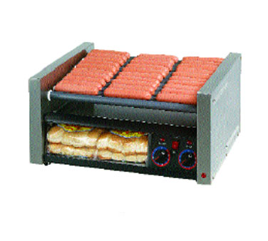 Star 30SCBBC Grill-Max Pro Hot Dog Grill with Duratec Rollers and Bun Holder