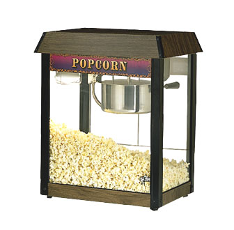 Star 39D-A JetStar Wood Grain Style Popcorn Popper