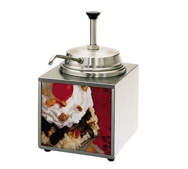 Star 3WLA-P Lighted Food Warmer with Pump