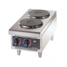 Star 502FF Star-Max Two Burner Hotplate with Solid Top