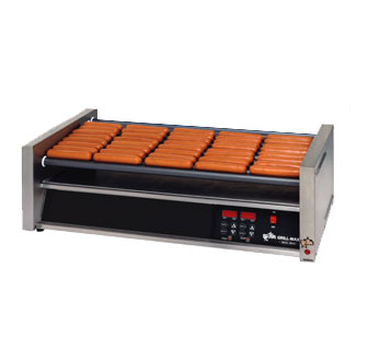Star 50SCE Grill-Max Pro Electronic Hot Dog Grill with Duratec Rollers