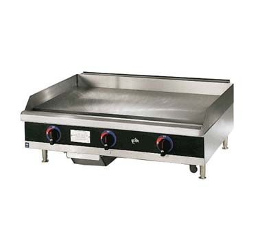 Star 624TF Star-Max 24 Gas Steel Griddle with Thermostat Controls