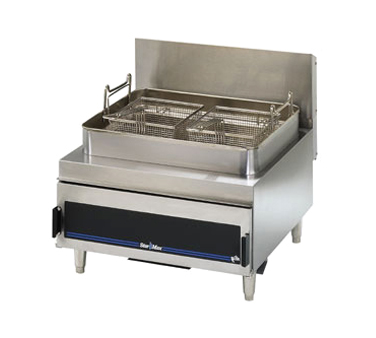 Star 630FF Star-Max Gas Fryer with Twin Baskets