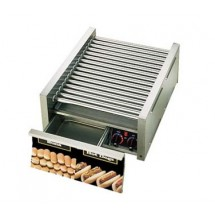 Star 75SCBD Grill-Max Pro Hot Dog Grill with Duratec Rollers and Built-in Bun Drawer