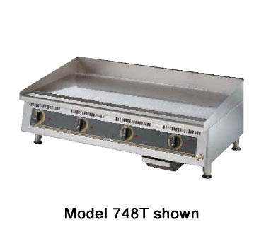 Star 772TA Ultra-Max 72 Electric Steel Griddle with Snap Action Thermostatic Controls